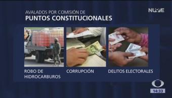 Foto: Diputados aprueban prisión preventiva para nueve delitos más