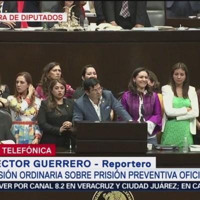 Diputados buscan tipificar 9 delitos en prisión preventiva oficiosa