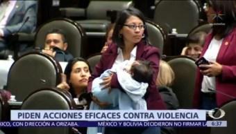 Diputados piden acciones eficaces para combatir violencia contra mujeres