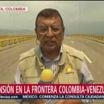 FOTO: Disturbios en la frontera entre Colombia y Venezuela, 23 febrero 2019