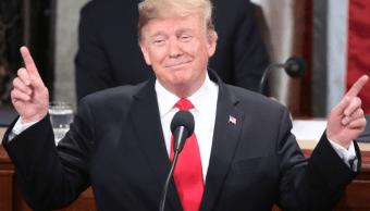 Foto: Donald Trump, presidente de Estados Unidos, durante discurso sobre Estado de la Unión, 5 febrero 2019