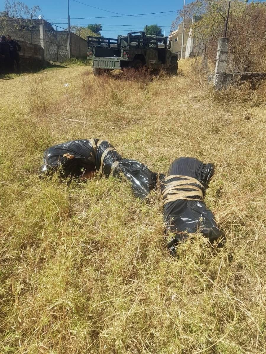 Dos bolsas de basura fueron halladas en un predio de la colonia Cerritos García de Cuernavaca (El Diario de Morelos)