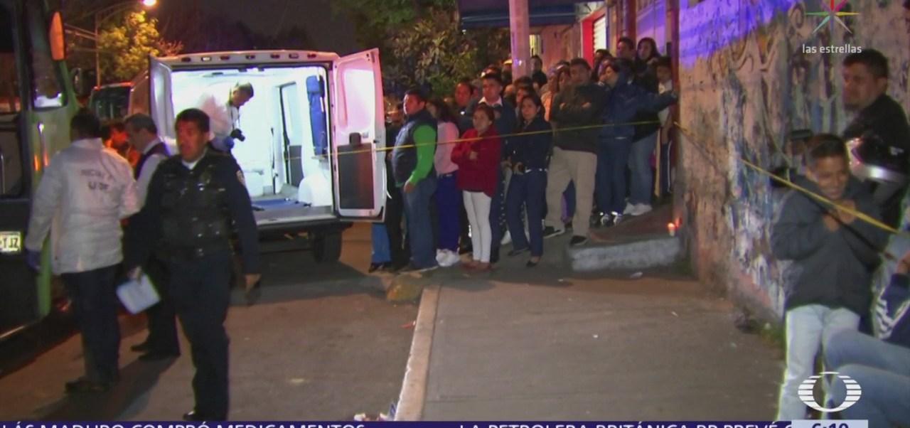 Dos muertos y dos heridos de bala en la CDMX