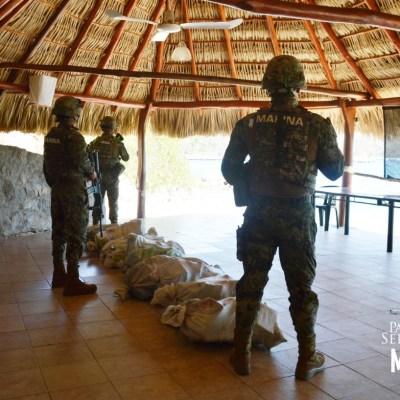 Aseguran más de media tonelada de cocaína en costas de Oaxaca