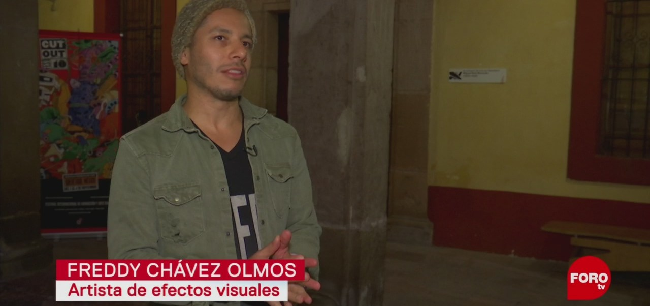 Efectos visuales con Freddy Chávez Olmos