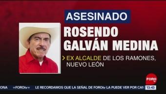 Foto: Ejecutan a exalcalde en Nuevo León