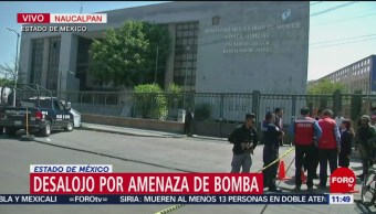 Ejército despliega binomios caninos para revisar juzgados de Naucalpan