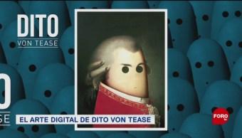 FOTO: El artista digital Dito Von Tease, artista digital, Dito Von Tease, artista italiano, personajes históricos, películas, series de televisión, 2 febrero 2019