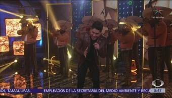 'El Bebeto' interpreta 'Seremos' en Al Aire