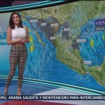 Foto: El Clima 'A las Tres' con Daniela Álvarez del 15 de febrero de 2019