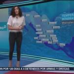 Foto: El clima A las Tres con Daniela Álvarez del 6 de febrero de 2019