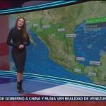foto: El clima con Mayte Carranco del 1 de febrero de 2019