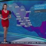 Foto: El clima, con Mayte Carranco del 14 de febrero de 2019