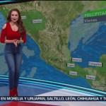 Foto: El clima, con Mayte Carranco del 15 de febrero de 2019