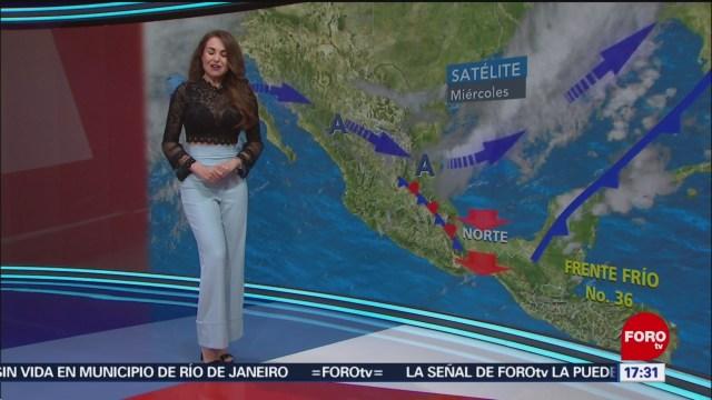 Foto: El clima Las Noticias Mayte Carranco 13 de Febrero 2019
