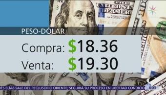 FOTO: El dólar se vende en $19.30, 4 febrero 2019
