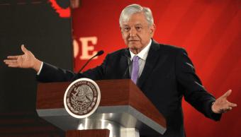 Foto: El presidente López Obrador., 15 febrero 2019, CDMX