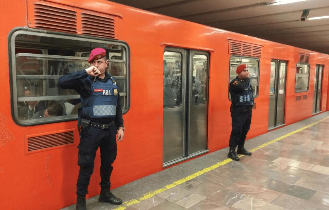 seguridad, mujeres, metro, policía, Twitter, @SSP_CDMX, 8 abril 2017