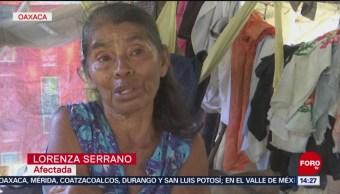 Foto: En Oaxaca, esperan apoyo tras sismo