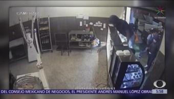 En segundos roban pastelería en la colonia Romero Rubio