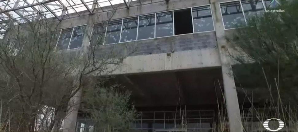 Abandonan construcción de penal de Ciudad Victoria, Tamaulipas. 14 febrero 2019