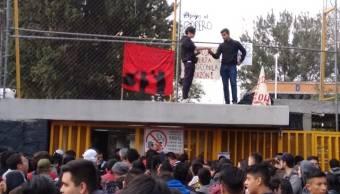 Foto: Encapuchados toman instalaciones de la Prepa 5 8 febrero 2019