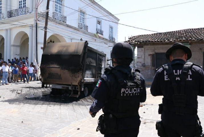Foto:Fiscalía de Oaxaca investiga hechos violentos ocurridos en Santo Domingo Tehuantepec, 28 febrero 2019
