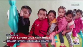 Foto: Entrevista directora de estancias infantiles Chiapas