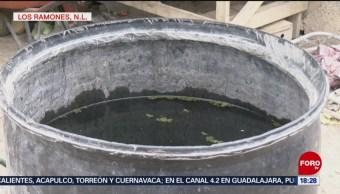 Foto: Escases de agua potable en Los Ramones, Nuevo León