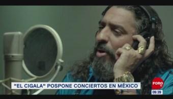"""#EspectáculosenExpreso: """"El Cigala"""" pospone conciertos en México"""