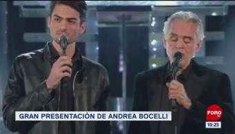 #EspectáculosenExpreso: Gran presentación de Andrea Bocelli