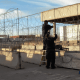 FOTO Instalan alambre de púas en puentes fronterizos de El Paso Herald post febrero 2019