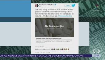EU rechaza reunión entre Trump y Maduro