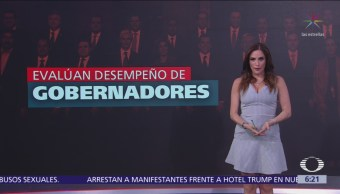 Evalúan desempeño de gobernadores en México
