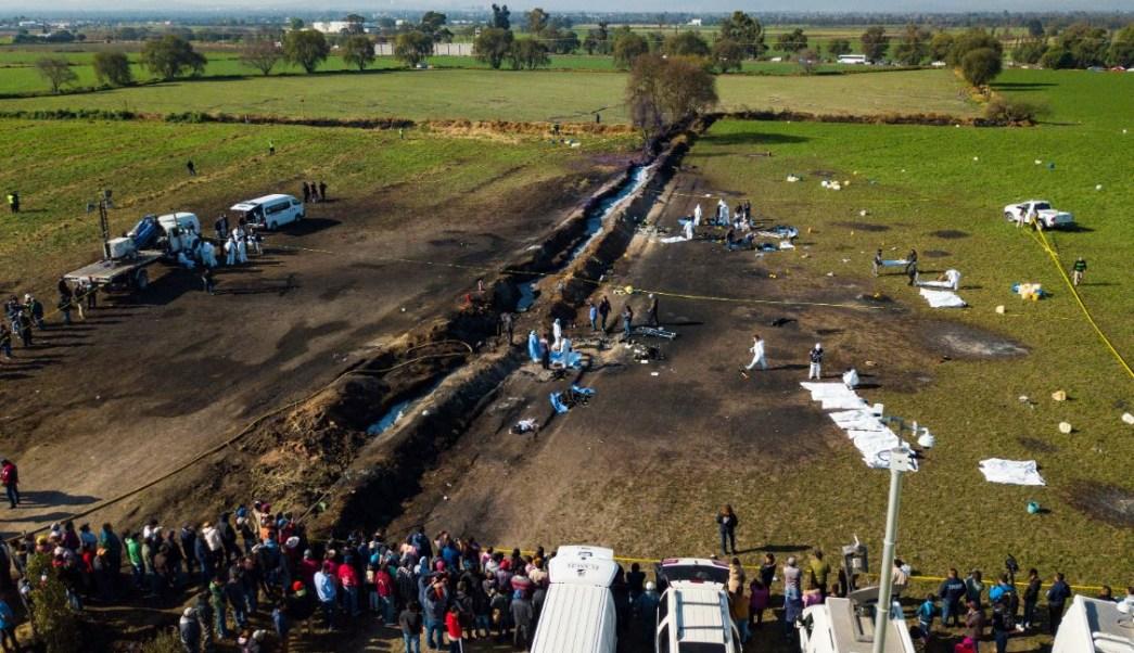 Imagen: De acuerdo con cifras oficiales, aún permanecen 22 personas hospitalizadas por la explosión de un ducto de Pemex en Hidalgo