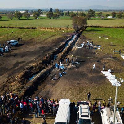 Suman 125 muertos por explosión de ducto en Tlahuelilpan, Hidalgo