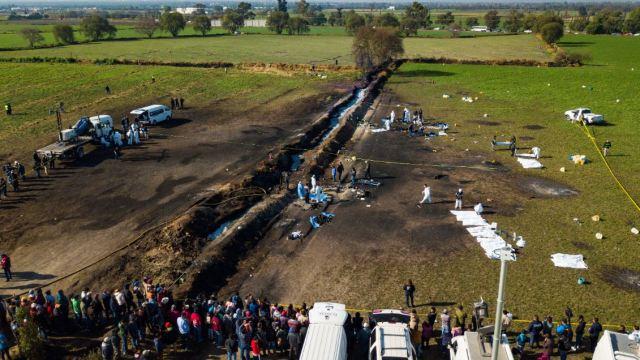 Foto: El pasado 18 de enero un ducto de Pemex explotó por una toma clandestina en Tlahuelilpan, Hidalgo, el 18 de enero de 2019 (Reuters)