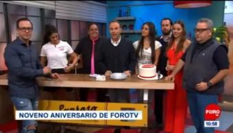 Expreso de la Mañana festeja 9 años de FOROtv