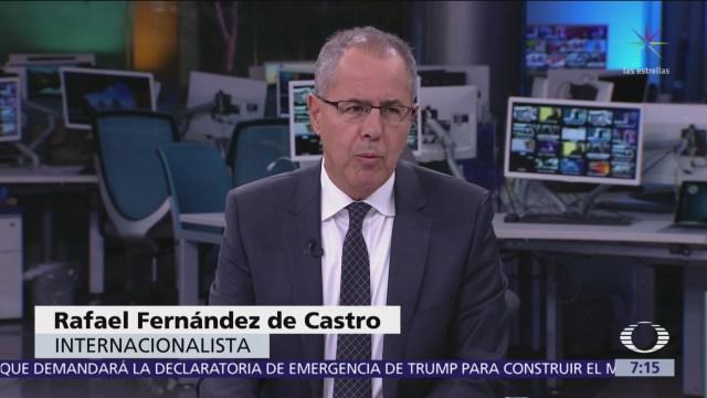 Fernández de Castro: Emergencia de Trump, medida electorera