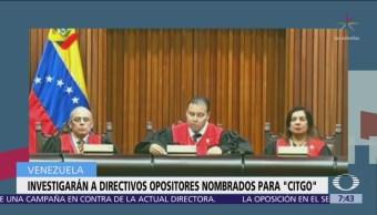 Fiscalía de Venezuela investiga a directivos de Citgo, designados por Guaidó