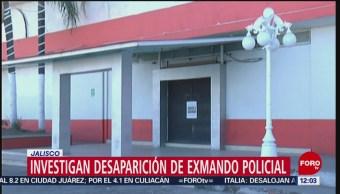 Fiscalía investiga desaparición de exmando y policías de Tonalá