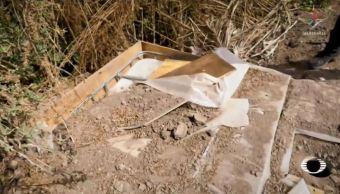 huachicoleros hidalgo esconden combustible robado en fosas clandestinas