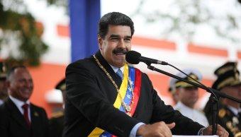 Foto: El presidente de Venezuela, Nicolás Maduro, asiste a una ceremonia para conmemorar el Congreso de Angostura en Ciudad Bolívar, 15 de febrero de 2019