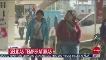 FOTO: Frente frío 34 provoca marcada descenso de temperatura en Sonora, 3 febrero 2019
