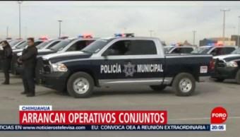 FOTO: Fuerzas federales refuerzan seguridad en Ciudad Juárez, Chihuahua, 13 FEBRERO 2019