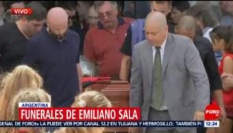 FOTO: Funerales del futbolista Emiliano Sala en Argentina, 16 febrero 2019