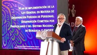 Gobierno de EPN simuló búsqueda de desaparecidos Encinas