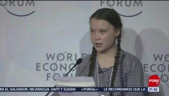 Foto: Greta Ambientalista Más Joven Mundo 28 de Febrero 2019