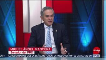 Guardia Nacional combatirá los delitos federales, dice Miguel Ángel Mancera