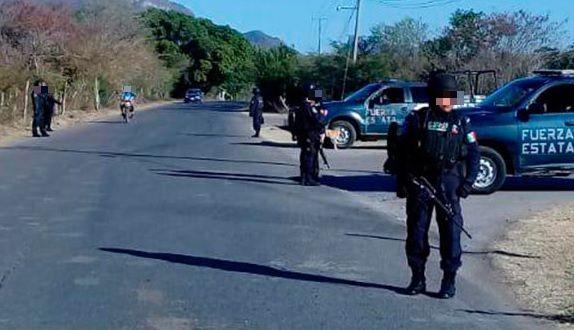 Foto: Operativo de seguridad en Guerrero, 3 de febrero 2019. Twitter @SSPGro